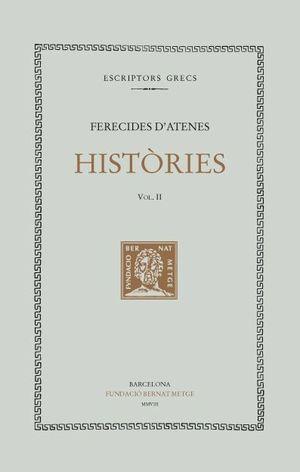 HISTÒRIES. VOLUM II -FRAGMENTS 81-180A- (DOBLE TEXT/RÚSTICA)