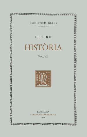 HISTÒRIA VII  ( DOBLE TEXT / RÚSTICA )