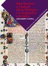APORTACIONS A L'ESTUDI DE LA FILOLOGIA I LA LINGÜÍSTICA CATALANES