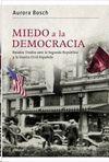 MIEDO A LA DEMOCRÁCIA