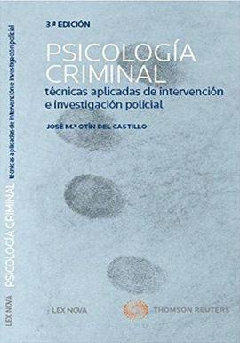 PSICOLOGÍA CRIMINAL (3 EDICION 2013)