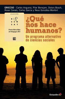 ¿QUE NOS HACE HUMANOS?