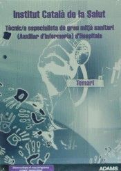 TEMARI TÈCNIC-AA ESPECIALISTA DE GRAU MITJA SANITARI