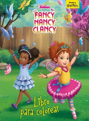 LIBRO PARA COLOREAR - FANCY NANCY CLANCY