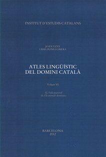 ATLES LINGÜÍSTIC DEL DOMINI CATALÀ. VOLUM VIII