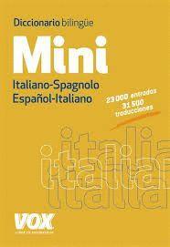 DICCIONARIO MINI ESPAÑOL - ITALIANO / ITALIANO - SPAGNOLO