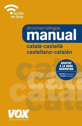 DICCIONARI BILINGÜE MANUAL CATALÀ-CASTELLÀ / CASTELLANO-CATALÁN