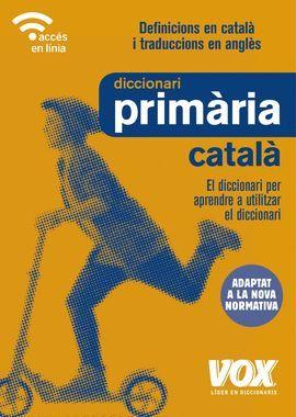 DICCIONARI DE PRIMÀRIA CATALA