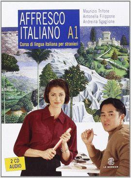 AFFRESCO ITALIANO A1 + 2 CD AUDIO