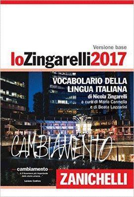 LO ZINGARELLI 2017. VOCABOLARIO DELLA LINGUA ITALIANA