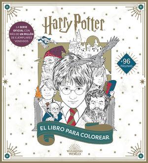HARRY POTTER: EL LIBRO OFICIAL PARA COLOREAR