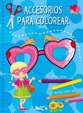 ACCESORIOS PARA COLOREAR - AZUL