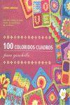 100 COLORIDOS CUADROS PARA GANCHILLO