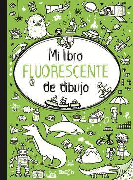 LIBRO FLUORESCENTE DE DIBUJO, MI