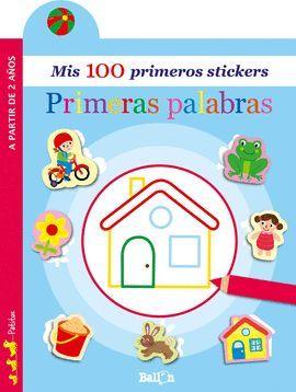 100 PRIMEROS STICKERS, MIS. PRIMERAS PALABRAS