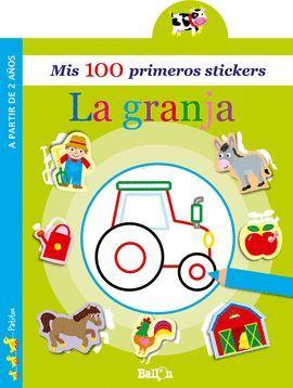 100 PRIMEROS STICKERS, MIS. LA GRANJA