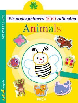 ANIMALS - ELS MEUS PRIMERS 100 ADHESIUS