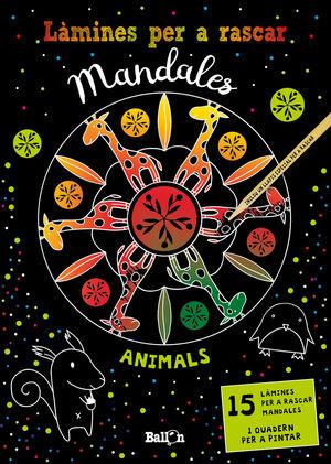 LÀMINES PER A RASCAR MANDALES - ANIMALS