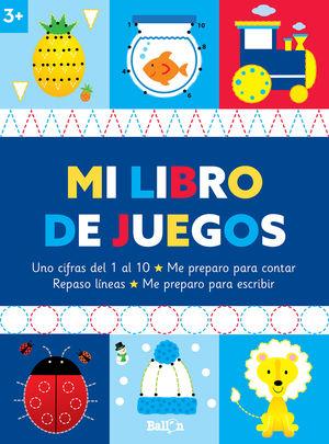 LIBRO DE JUEGOS +3, MI
