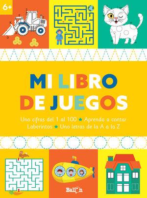 LIBRO DE JUEGOS +6, MI