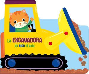 EXCAVADORA DE NICO EL GATO, LA
