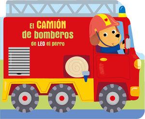 CAMIÓN DE BOMBEROS DE LEO EL PERRO, EL