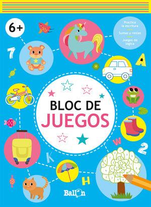 BLOC DE JUEGOS +6