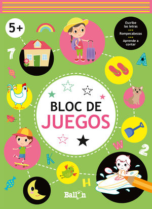 BLOC DE JUEGOS +5