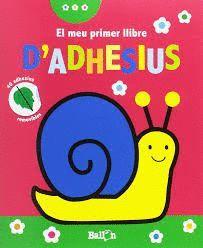 CARGOL. EL MEU PRIMER LLIBRE D'ADHESIUS A PARTIR DE 2 ANYS