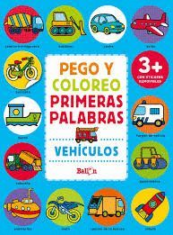 PEGO Y COLOREO PRIMERAS PALABRAS +3 AÑOS