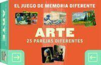 ARTE. EL JUEGO DE MEMORIA DIFERENTE