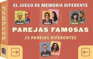 JUEGO DE MEMORIA DIFERENTE. PAREJAS FAMOSAS