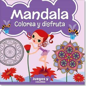 MANDALA. COLOREA Y DISFRUTA 02