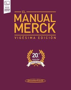 MERCK: EL MANUAL MERCK (20ª ED.) INCLUYE VERSIÓN DIGITAL