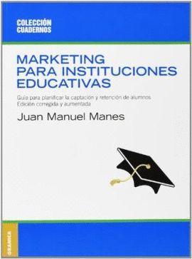 MÁRKETING PARA INSTITUCIONES EDUCATIVAS