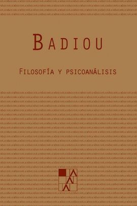 FILOSOFIA Y PSICOANALISIS