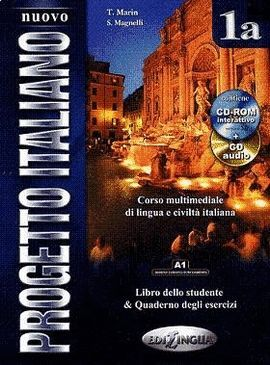 NUOVO PROGETTO ITALIANO 1A (LIBRO DELLO STUDENTE & QUADERNO DEGLI ESERCIZI) + DV