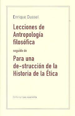 LECCIONES DE ANTROPOLOGÍA FILOSÓFICA