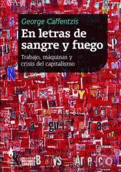 EN LETRAS DE SANGRE Y FUEGO