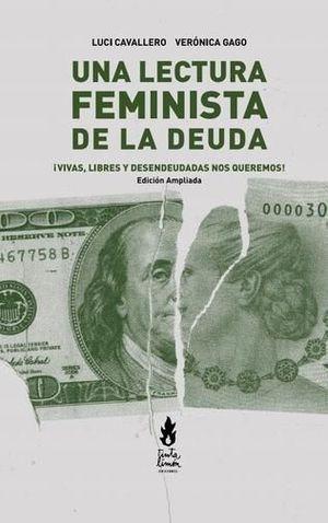 LECTURA FEMINISTA DE LA DEUDA, UNA