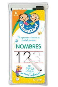 NOMBRES  +4 ANYS (+RETOLADOR I ESBORRADOR)