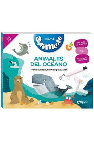ABREMENTE ANIMALES DEL OCÉANO (3-5 AÑOS)