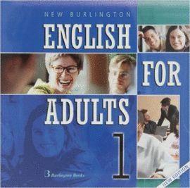 NEW BURLINGTON ENGLISH FOR ADULTS 1 (( AUDIO 2 CD ))