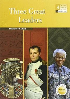 THREE GREAT LEADERS  -  4 ESO